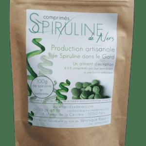 Spiruline comprimés – 100g